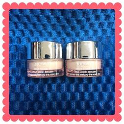 Clinique 2 LOT All About Eyes reduces circles, puffs Eye Cre
