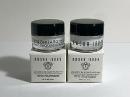 2 x Bobbi Brown Hydrating EYE CREAM - 0.1oz/3ml each - Trave