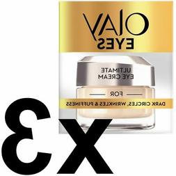 3 Olay Eyes Collection Ultimate Eye Cream Dark Circles Wrink