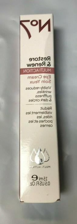 Boots No7 Restore & Renew Multi-Action Eye Cream 15 mL/0.5 f
