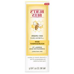 Burts's Bees Eye Cream w Royal Jelly Skin Nourishment .5 oz