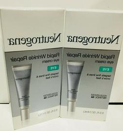 Neutrogena Rapid Wrinkle Repair Eye Cream *With BOX  BUNDLE