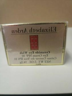 ELIZABETH ARDEN CERAMIDE EYE WISH- EYE CREAM SPF 10-  NEW- B