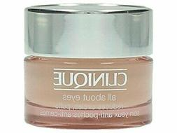 Clinique All About Eyes Cream for Unisex, 0.5 Ounce