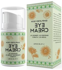 Eye Cream for Dark Circles, Bags & Puffiness Treatment by Si