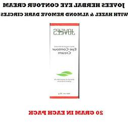 JOVEES HERBAL EYE CONTOUR CREAM WITH HAZEL & ALMOND REMOVE D