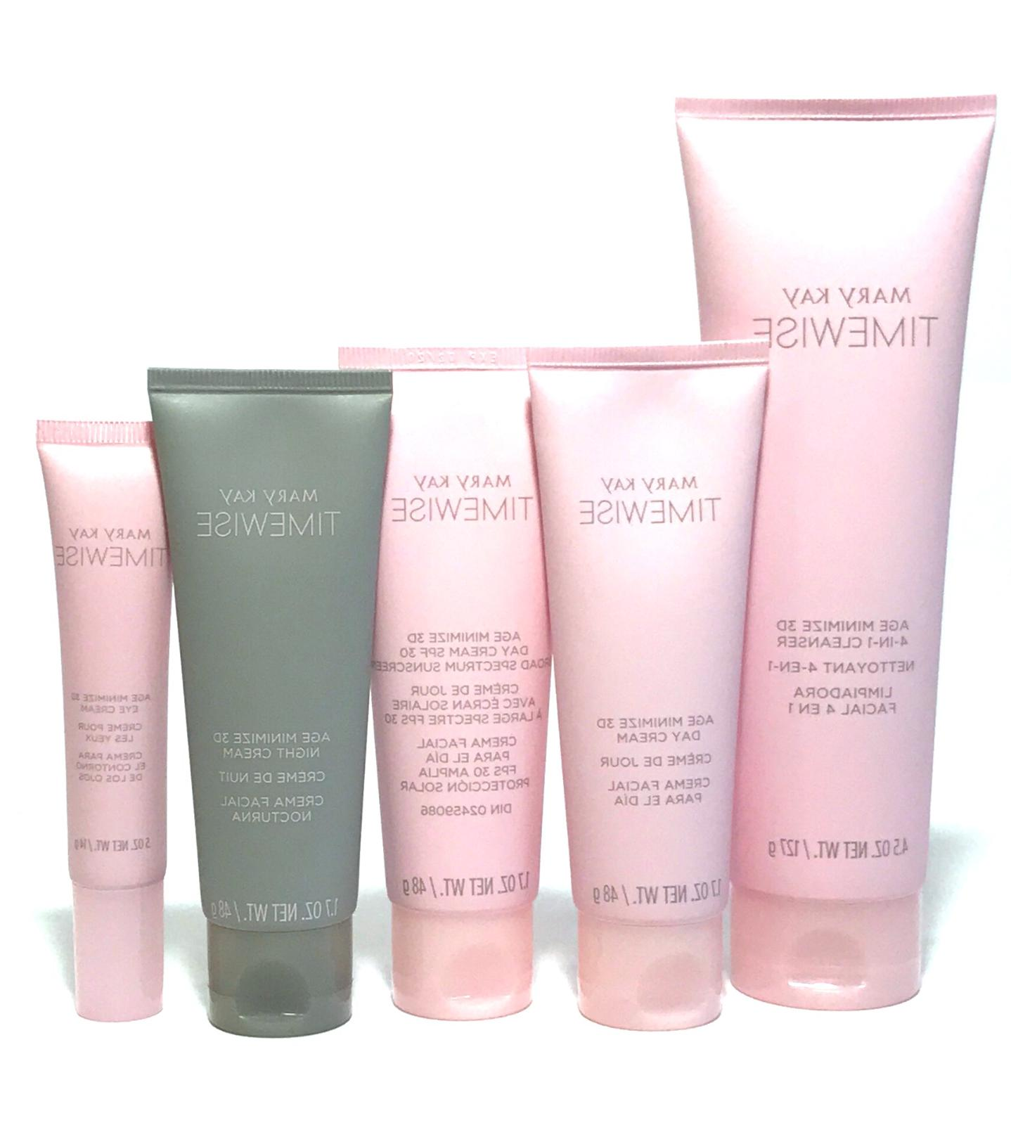 MARY KAY 3D TIMEWISE AGE MINIMIZE~YOU CHOOSE~SKIN CLEANSER~D