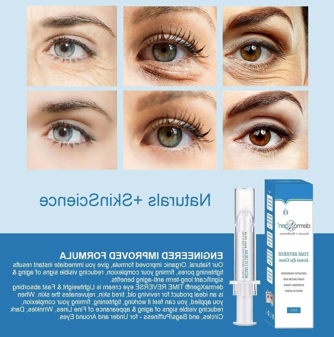 60 second instant time reverse eye cream