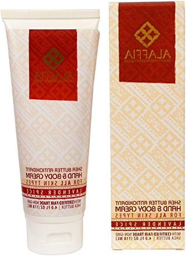 Alaffia - Shea Butter Hand and Body Cream, Normal to Extra D