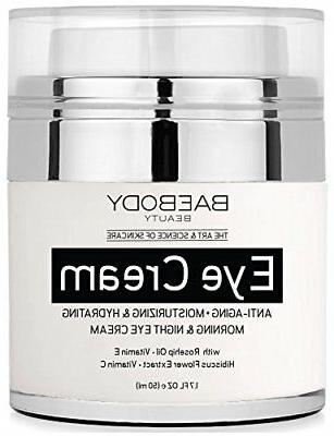 Baebody Eye Cream Anti Aging for Appearance of Fine Lines Wr