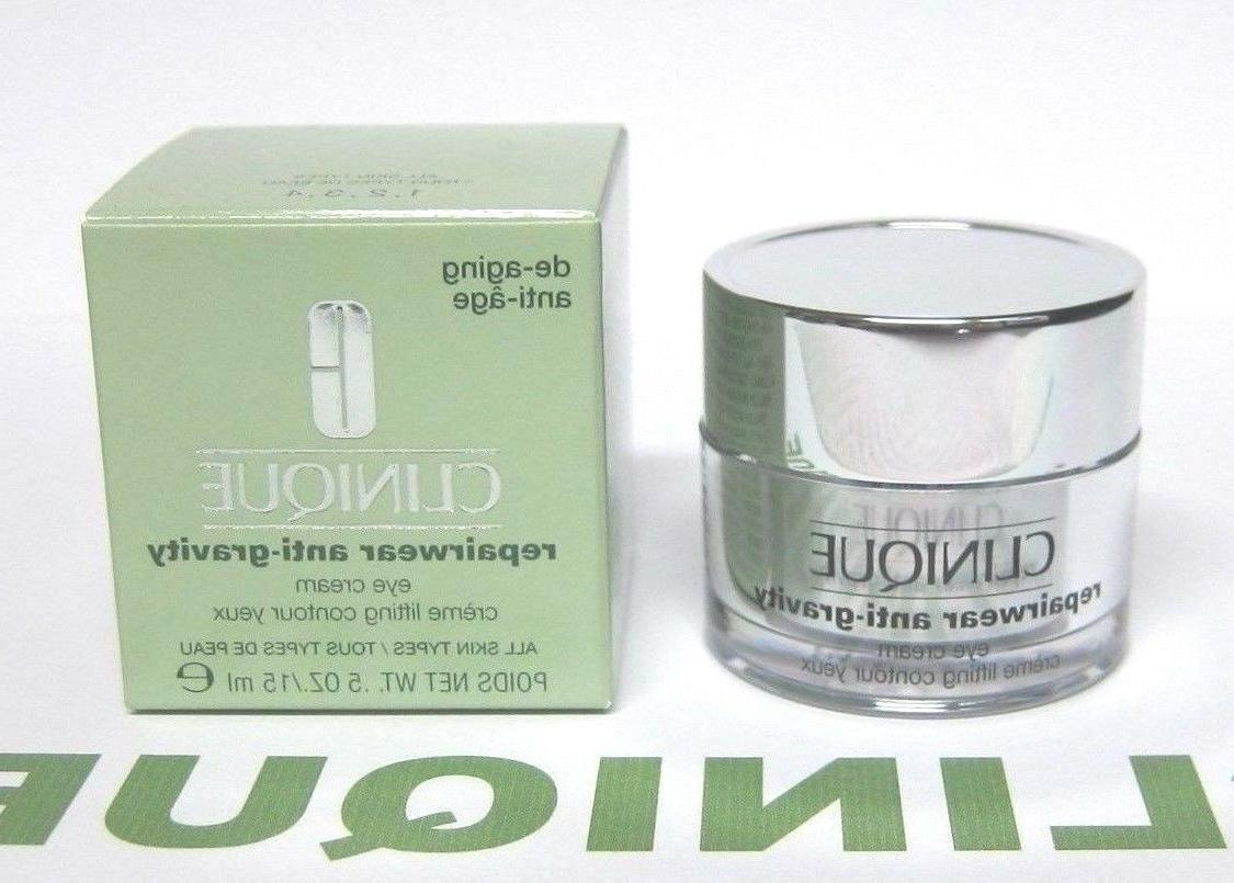 CLINIQUE Repairwear Anti-Gravity Eye Cream FULL SIZE  BNIB
