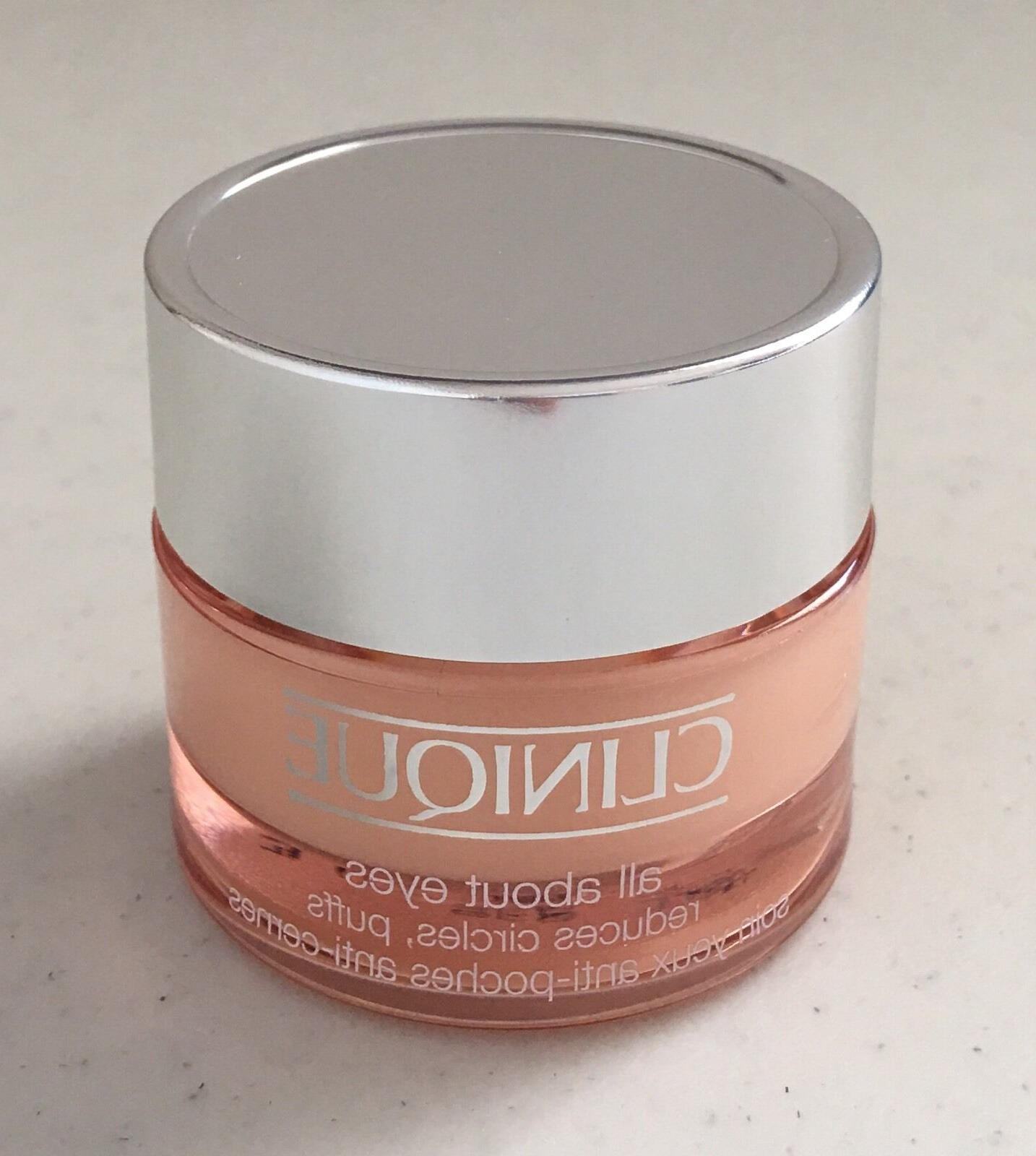 Clinique All About Eyes reduces circles, puffs Eye Cream 0.5