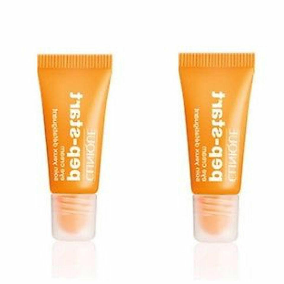 New Lot of 2 Clinique Pep-Start Eye Cream Travel Size 0.24 o