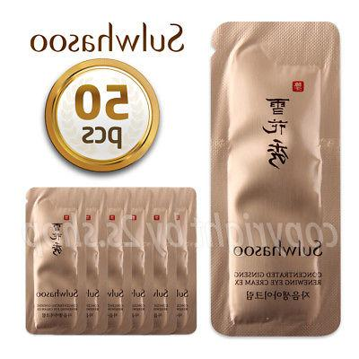 Concentrated Ginseng Renewing Eye Cream EX1ml× 50pcs Korea