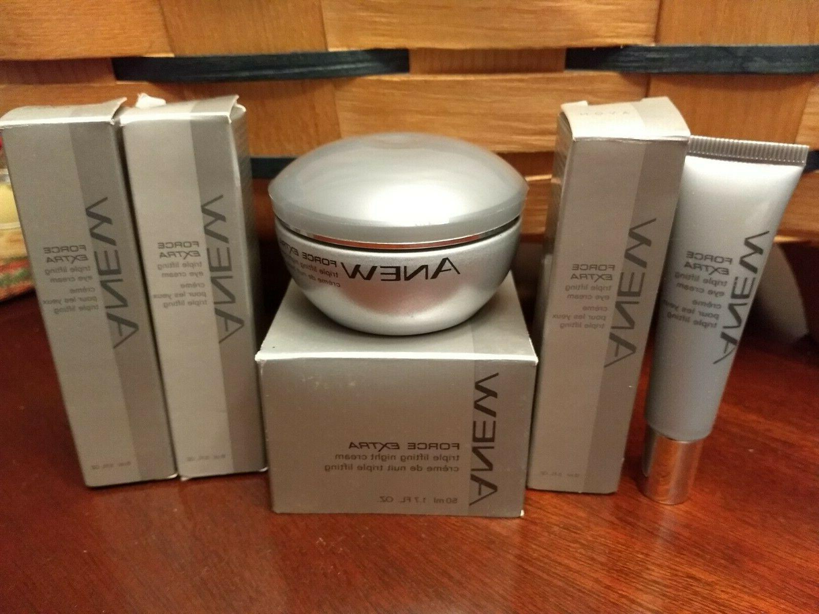 anew force triple lifting extra night cream