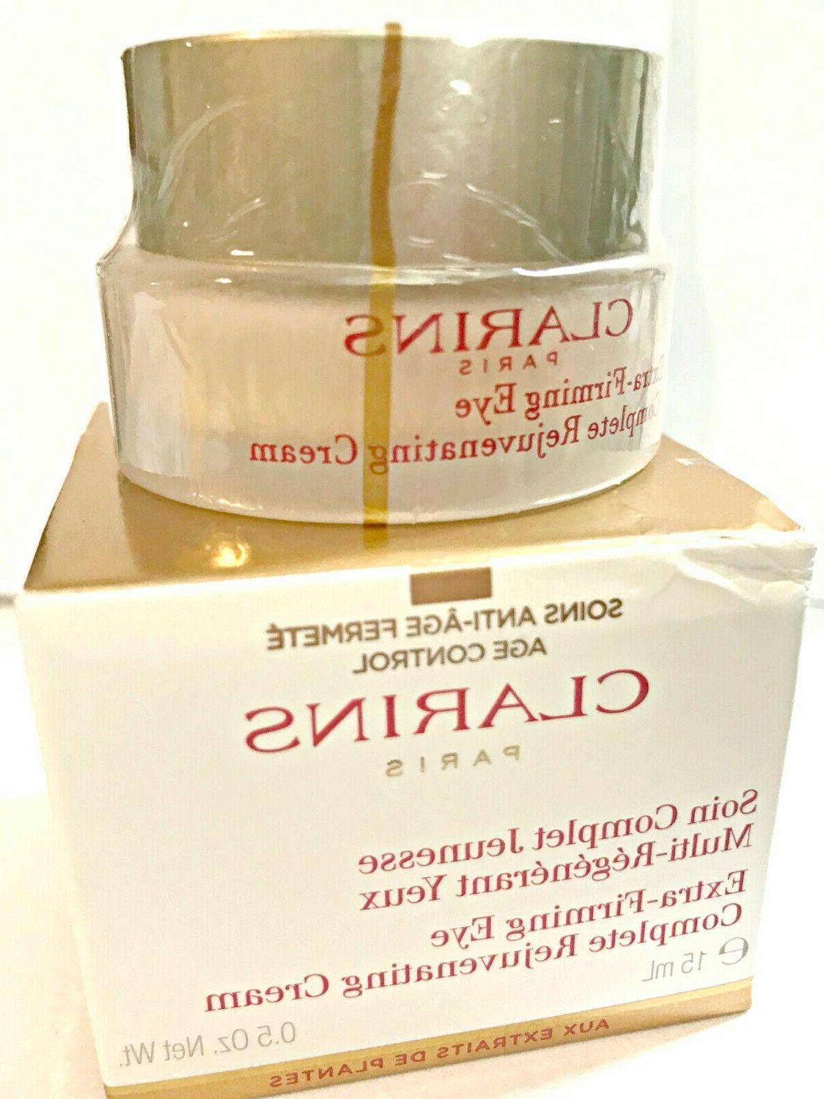 extra firming eye yeux complete rejuvenating cream