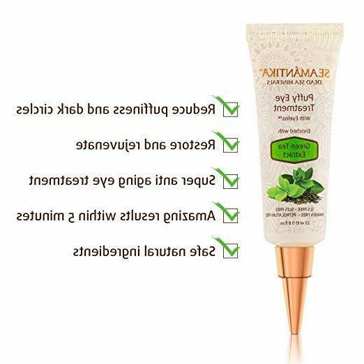 Instant Puffy by Seamantika, Hydrating Eye Cream, Results