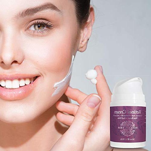 Kit Face Serum 2.5% Cream Lines w/Shea Red Palm.Say Bye Bye Crow's Feet!!