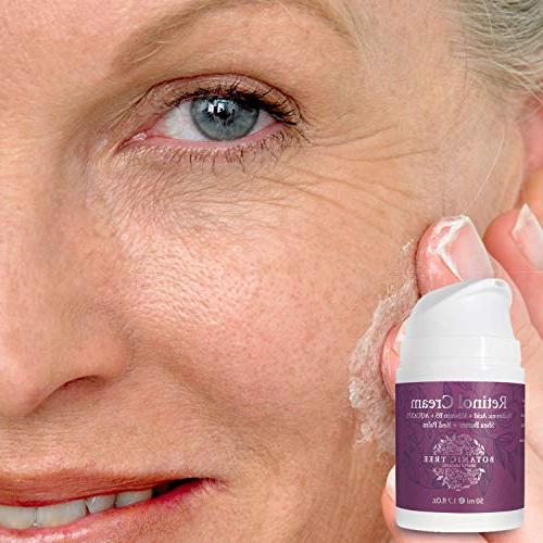 Kit Retinol Cream Face and 2.5% Anti Aging Cream Lines w/Shea Butter And Palm.Say Bye Crow's Feet!!