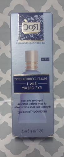 NEW!! RoC MULTI CORREXION 5-In-1 Eye Cream
