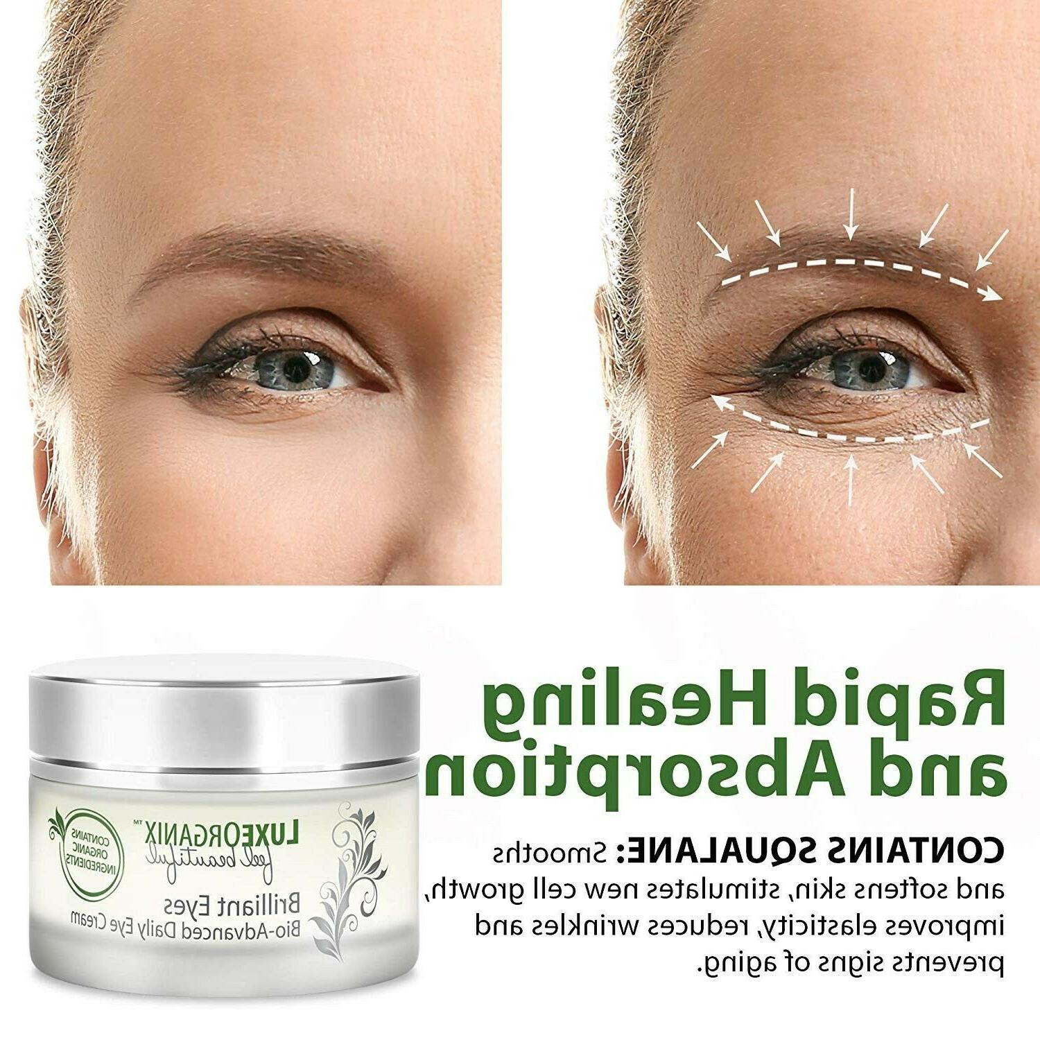Organic Eyes Treatment Relieves Circles and