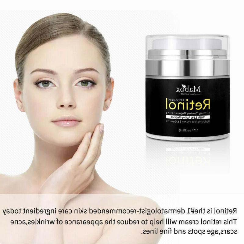 Retinol Moisturizer For Face Hyaluronic A