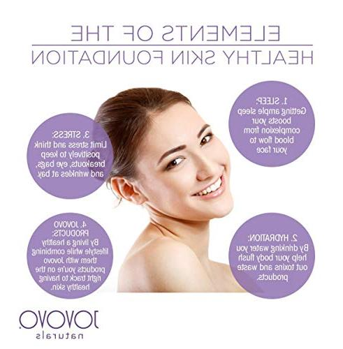 Vegan Cream: Small Natural Anti-Aging Treatment and Puffy | with by Jovovo