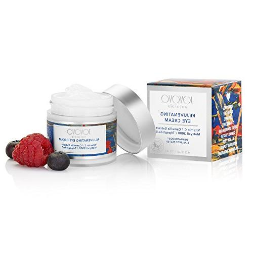 Vegan Under Cream: Consciously Small Batches Natural Anti-Aging Treatment Reduce Wrinkles and Puffy | with by Jovovo