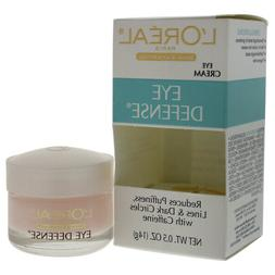 l oreal eye defense cream reduces puffiness