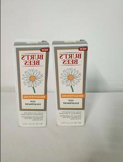 Lot of 2 BURT'S BEES BRIGHTENING EYE TREATMENT WITH DAISY EX