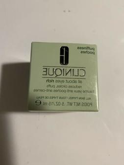 New in Box Clinique All About Eyes Rich Eye Cream 0.5 oz / 1