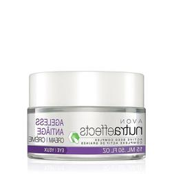 AVON NUTRAEFFECTS  ACTIVE SEED COMPLEX AGELESS EYE CREAM .50