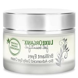 organic eye cream under eyes treatment relieves