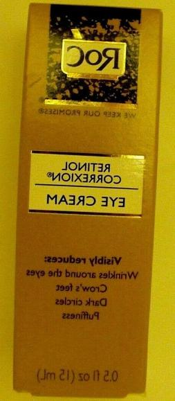 ROC RETINOL CORREXION EYE CREAM 0.5 fl.oz
